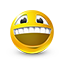 {yellow}:grinning: